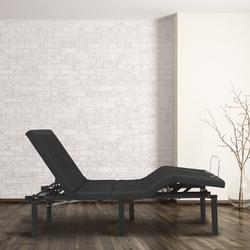 "Blissful Nights 14"" Massaging Zero Gravity Adjustable Bed w/ Wireless Remote, Size 14.0 H x 59.0 W x 79.0 D in | Wayfair WFKDG-Q"