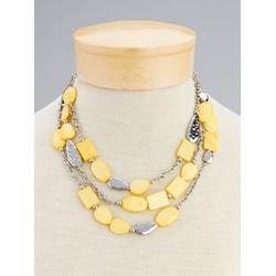 Women's Spring Fling Multi-Strand Necklace, Buttercup Yellow N/A