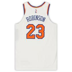 """""""Mitchell Robinson New York Knicks Game-Used #23 White Jersey vs. Washington Wizards on March 10, 2020 - Size 52+4"""""""