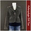Anthropologie Jackets & Coats | Anthro Corduroy Jacket By Ett Twa | Color: Brown | Size: 4