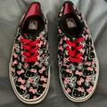 Vans Shoes | Hello Kitty Vans | Color: Black/Red | Size: 3.5bb