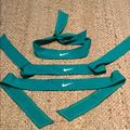 Nike Accessories | Nike Head Tie Sweat Bands . 3 Quantity Brand New | Color: Green | Size: Os