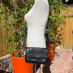 Kate Spade Bags   Kate Spade Leather Foldover Crossbody Bag   Color: Black   Size: Os