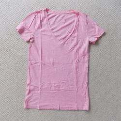 J. Crew Tops | J. Crew Jcrew Vintage Cotton V Neck Shirt Coral | Color: Pink | Size: S