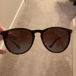 Ray-Ban Accessories | Erika Polarized Ray-Ban Womens Sunglasses | Color: Brown/Tan | Size: Womens Standard Sunglasses