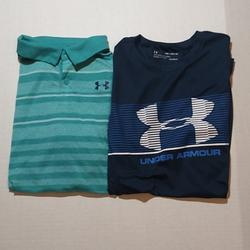Under Armour Shirts & Tops   Lot Of Under Armour Boys Size Xlarge   Color: Blue   Size: Xlb