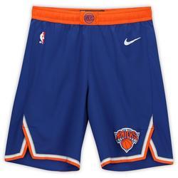 """Elfrid Payton New York Knicks Game-Used #6 Blue Shorts from the 2019-20 NBA Season - Size 40"""