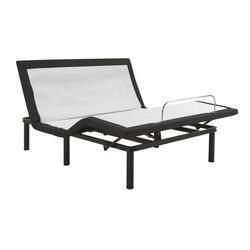 "Blissful Nights 14"" Massaging Zero Gravity Adjustable Bed w/ Wireless Remote, Size 14.0 H x 53.0 W x 73.0 D in | Wayfair WFKDP-F"