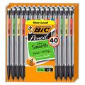 BIC Xtra-Smooth Mechanical Pencil, Medium Point (0.7 mm), 1 Pack of 40-Count