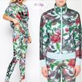 Adidas Jackets & Coats | Adidas Battle Of The Birds Florera Set S | Color: Green/Red | Size: S