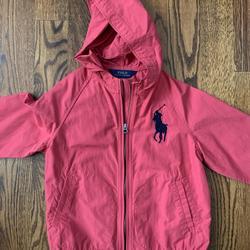 Polo By Ralph Lauren Jackets & Coats | Kids Polo By Ralph Lauren Windbreaker | Color: Pink | Size: 7g