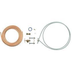 Whirlpool 8003RP 15-Feet Copper Tubing Icemaker Hook Up Kit & 8212547RP Pex Ice Maker Hook-Up Kit, white