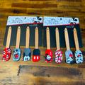 Disney Kitchen   Nwt Disney Mickey Mouse 8 Piece Mini Spatula Set   Color: Black/Red   Size: Os