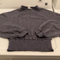 American Eagle Outfitters Sweaters | Blue Gray Sweater | Color: Blue/Gray | Size: S
