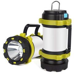 """WYZworks 7"""" Battery Powered Integrated LED Color Changing Outdoor Lantern in Silver/Brown/Gray, Size 3"""" L x 3"""" W x 7"""" H   Wayfair LIV-LED-LANTERN-"""