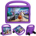 Mieziba Kids Case for Fire HD 8 Case 2020 Release,Shockproof Premium Silicone Light Weight Handle Stand Kids Case for Amazon Kindle Fire HD 8,Purple