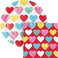 Creative Converting Hearts Party Supplies Kits for 24 GuestsPaper | Wayfair DTC6019E2C