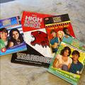 Disney Other | High School Musical Book Collection | Color: Black/Red | Size: One Size