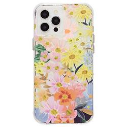 Rifle Paper Co - Case for iPhone 12 Pro Max (5G) - 10 ft Drop Protection - Floral Design - 6.7 Inch - Marguerite