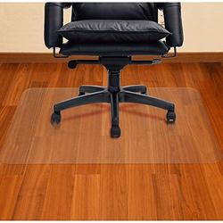AiBOB Office Chair mat for Hardwood Floor, 2 PCS, 30 x 48 inches, Easy Glide for Chairs, Flat Without Curling, Floor Mats for Computer Desk