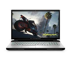 "New Alienware Area 51M Gaming Laptop, 17.3"" 300hz 3ms FHD Display, Intel Core i7-10700K, Nvidia GeForce RTX 2070 Super 8GB GDDR6, 1TB SSD, 16GB RAM, Lunar Light (AWARR2-7323WHT-PUS) (Renewed)"