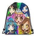 BITH Funneh Travel Backpack School Bag Drawstring Bags Gym Bag