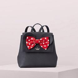 Kate Spade Bags | Kate Spade Minnie Mouse Small Backpack | Color: Black/Red | Size: Os