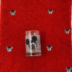 Disney Accessories | Disney Minnie Knit Neck Gaiter Free Shot Glass | Color: Red | Size: 12 By 15 Stretchy