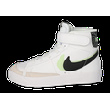 Baskets Nike Blazer Mid'77 Se Enfant Blanc Gris Vert