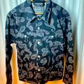 Levi's Jackets & Coats   Mens Levis Silver Paisley Denim Jacket And Jeans   Color: Silver   Size: M