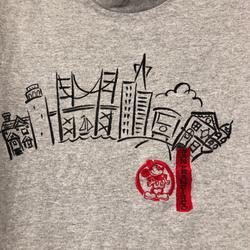 Disney Shirts | Disney San Francisco T-Shirt Gray Xl | Color: Gray | Size: Xl