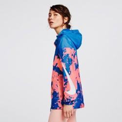 Nike Jackets & Coats | Nike Windrunner Printed Jacket | Color: Blue/Pink | Size: Xs