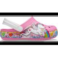 Crocs Pink Lemonade Kids' Crocs Fun Lab Unicorn Lights Clog Shoes