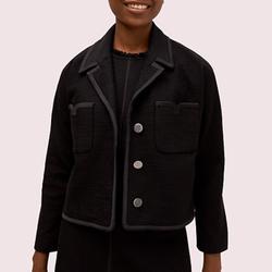 Kate Spade Jackets & Coats   Kate Spade Tweed Pocket Jacket In Black   Color: Black   Size: Various