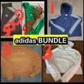 Adidas Jackets & Coats | 3 Adidas Jacket & Hoodie Bundle Green Jacket Sold! | Color: Black/Green | Size: M