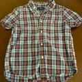 Ralph Lauren Shirts & Tops | Boys Ralph Lauren Plaid Cotton Poplin Shirt | Color: Blue/Red | Size: 6b