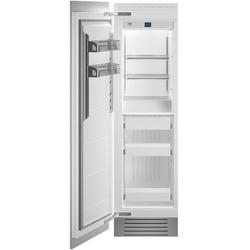 """Bertazzoni REF24FCIPRL 24"""" Built-In Freezer Column with 12.64 cu. ft. Total Capacity Automatic Ice Maker White Aluminum Interior LED Lighting Digital Touch Control Interface Sabbath Mode Left Hinge in Panel Ready"""