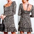 Free People Dresses | Free People Sexy Mini Dress | Color: Black/Green | Size: 2