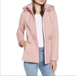 Kate Spade Jackets & Coats   Kate Spade New York Hooded Quilted Jacket Size Xs   Color: Pink   Size: Xs