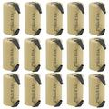 Kastar 15-Pack Nickel Metal Hydride (Ni-MH) Rechargeable Paper Wrapped Sub C SC Cell 1.2V 2200mAh Battery Flat Top with Tabs Replacement for Any of 1000mAh ~ 2500mAh Ni-CD & Ni-MH Sub C SC Cells
