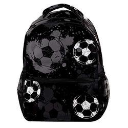 Grunge Sport Football Soccer Laptop Backpack for Men School Bookbag Travel Rucksack Daypack School Bag for Women Girls
