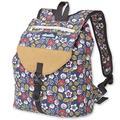 KAVU Satchel Pack Rucksack Travel, Hiking Backpack - Sakura Fall