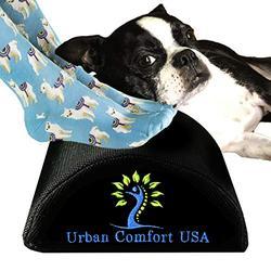 Foot Rest Under Desk - Office Desk Foot Rest - Pain Relief Ergonomic Memory Foam Footrest - Comfy Home Office Desk Accessories - Office Chair Footrest - Small Footstool Pillow - Gaming Foot Rest