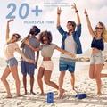 "Homdox Portable tooth Speaker in Blue, Size 3""H X 3""W X 6""D | Wayfair US01+SPF000013_BL#@"