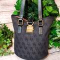 Dooney & Bourke Bags | Dooney & Bourke North South Bucket Bag | Color: Black/Gray | Size: Os
