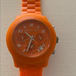 Michael Kors Accessories   Michael Kors Orange Watch   Color: Orange   Size: Os