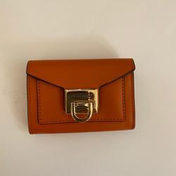 Michael Kors Bags | Nwt Michael Kors Small Flap Leather Wallet | Color: Orange | Size: 3.5 H X 5 W X 1 D