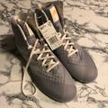 Adidas Shoes   Adidas Mat Wizard 4 Wrestling Shoes   Color: Gray/White   Size: 7.5
