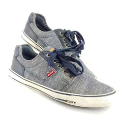 Levi's Shoes   Levi'S Men'S Casual Loafer Tennis Shoe Lace Up 9   Color: Blue/White   Size: 9
