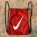 Nike Accessories | Nike Sling Style Backpack Bag | Color: Red | Size: Osb